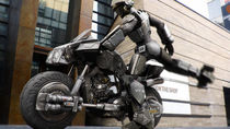 Transform and combine with a motorcycle von Joseph Yeo