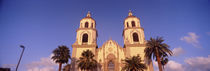 Low angle view of a cathedral, St. Augustine Cathedral, Tucson, Arizona, USA by Panoramic Images