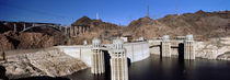 Dam on a river, Hoover Dam, Colorado River, Arizona and Nevada, USA von Panoramic Images
