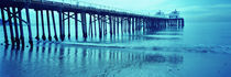 Pier at sunset, Malibu Pier, Malibu, Los Angeles County, California, USA von Panoramic Images
