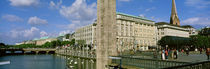 Inner Alster, Hamburg, Germany by Panoramic Images