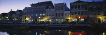 Buildings at the waterfront, Costa De Prata, Aveiro, Portugal by Panoramic Images