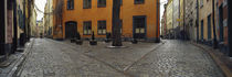 Buildings in a city, Gamla Stan, Stockholm, Sweden by Panoramic Images