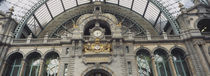 Low angle view of a building, Antwerp, Belgium von Panoramic Images