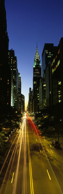 Panorama Print - Lexington Avenue NYC, New York City, New York State, USA, von Panoramic Images