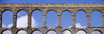 Roman Aqueduct, Segovia, Spain von Panoramic Images