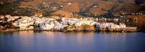 Buildings at the waterfront, Andros, Cyclades Islands, Greece von Panoramic Images
