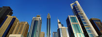 Low angle view of buildings, Dubai, United Arab Emirates 2010 von Panoramic Images