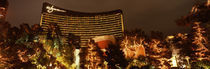 Hotel lit up at night, Wynn Las Vegas, The Strip, Las Vegas, Nevada, USA von Panoramic Images