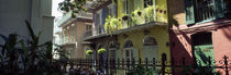 Buildings along the alley, Pirates Alley, New Orleans, Louisiana, USA by Panoramic Images