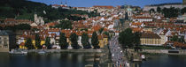 Vltava River, Prague, Czech Republic by Panoramic Images