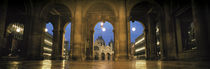 Arcade of a building, St. Mark's Square, Venice, Italy von Panoramic Images