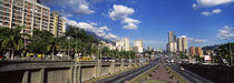 Buildings in a city, Caracas, Venezuela von Panoramic Images