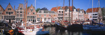 Old Zuiderzee Port of Horn Noord Netherlands von Panoramic Images