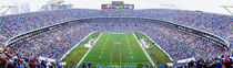 NFL Football, Ericsson Stadium, Charlotte, North Carolina, USA by Panoramic Images