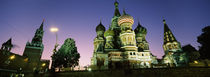 Low angle view of a cathedral, St. Basil's Cathedral, Red Square, Moscow, Russia by Panoramic Images