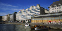 Buildings at the waterfront, Palace Hotel, Helsinki, Finland by Panoramic Images