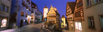 Germany, Rothenburg ob der Tauber von Panoramic Images