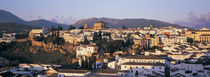 High angle view of a town, Ronda, Andalucia, Spain by Panoramic Images
