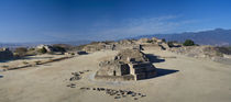 Ruins at an archaeological site, Monte Alban, Oaxaca, Mexico von Panoramic Images