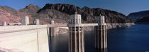 Dam on the river, Hoover Dam, Colorado River, Arizona, USA by Panoramic Images