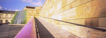 Low Angle View Of An Art Museum, Staatsgalerie, Stuttgart, Germany by Panoramic Images