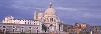 Grand Canal, Santa Maria della Salute, Panoramic view of a vintage building by Panoramic Images