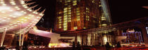 City lit up at night, Citycenter, The Strip, Las Vegas, Nevada, USA by Panoramic Images