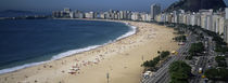 High Angle View Of The Beach, Rid De Janeiro, Brazil by Panoramic Images
