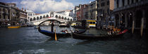 Tourists on gondolas, Grand Canal, Venice, Veneto, Italy von Panoramic Images