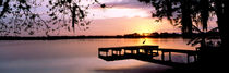 Sunrise Over Lake Whippoorwill, Orlando, Florida, USA by Panoramic Images