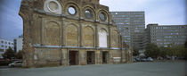 Facade of a building, Anhalter Bahnhof, Berlin, Germany by Panoramic Images