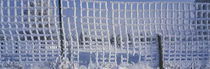 Close-up of a frozen fence, Aargau, Switzerland von Panoramic Images