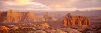 Rock formations on a landscape, Canyonlands National Park, Utah, USA by Panoramic Images