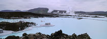 People In The Hot Spring, Blue Lagoon, Reykjavik, Iceland von Panoramic Images
