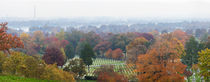 High angle view of a cemetery, Arlington National Cemetery, Washington DC, USA von Panoramic Images