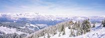 Ski resort, Reith Im Alpbachtal, Tyrol, Austria von Panoramic Images