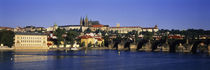 Charles Bridge Prague Czech Republic von Panoramic Images