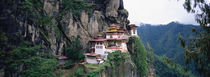 Monastery On A Cliff, Taktshang Monastery, Paro, Bhutan by Panoramic Images