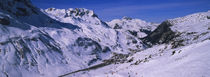 Snow on mountains, Zurs, Austria by Panoramic Images