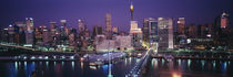 Buildings on the waterfront, Sydney, Australia by Panoramic Images