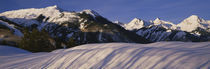 Capitol Peak on right, Elk Mountains, Snowmass Village, Colorado, USA von Panoramic Images