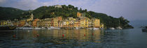Town at the waterfront, Portofino, Italy von Panoramic Images
