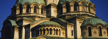 Close-up of a cathedral, St. Alexander Nevski Cathedral, Sofia, Bulgaria by Panoramic Images