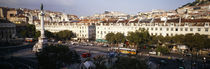 High angle view of a city, Lisbon, Portugal von Panoramic Images