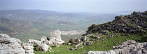 Rocks on a mountain, Torcal De Antequera, Malaga, Andalusia, Spain by Panoramic Images