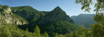 Panoramic view of a mountain, Sierra de Segura, Jaen Province, Andalusia, Spain by Panoramic Images