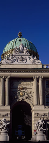Entrance of a palace, The Hofburg Complex, Heldenplatz, Vienna, Austria by Panoramic Images