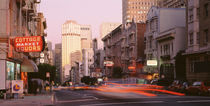 USA, California, San Francisco, Evening Traffic von Panoramic Images