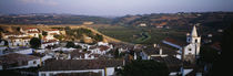 High angle view of a city, Portugal von Panoramic Images